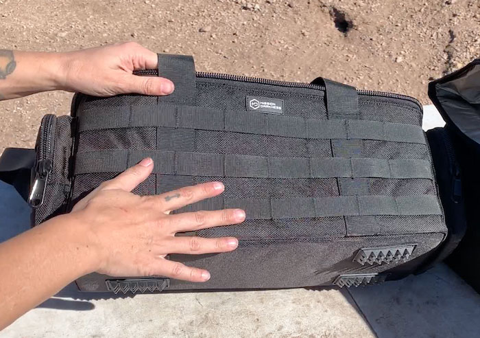 tactical MOLLE loops